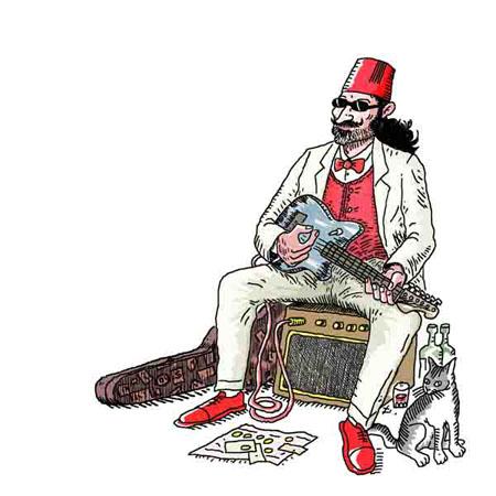 EL BANDI album El Bandi; dessin d'Elho